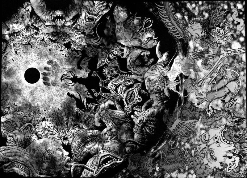 Horror Manga by Kentaro Miura - Berserk Picture 1
