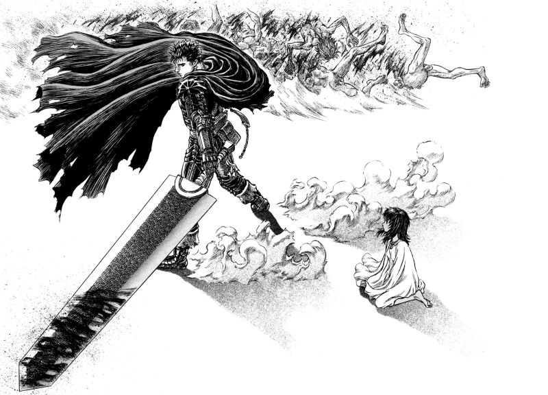 Horror Manga by Kentaro Miura - Berserk Picture 3