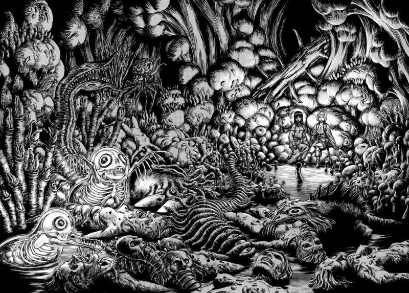 Horror Manga by Kentaro Miura - Berserk Picture 4