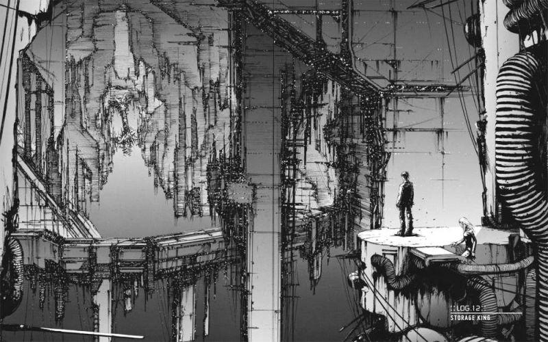 Horror Manga by Tsutomu Nihei - Blame! Picture 1