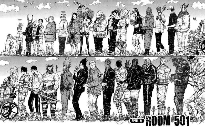 Best Manga by Q Hayashida - Dorohedoro Picture 3