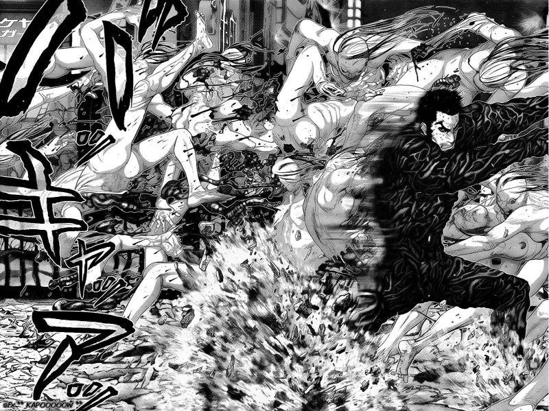 Horror Manga by Oku Hiroya - Gantz Picture 3