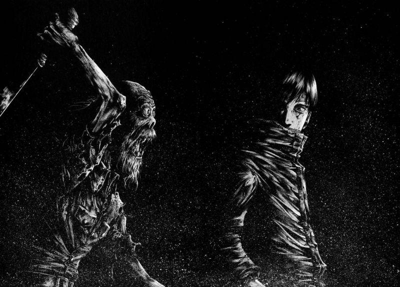 Horror Manga by Kakizaki Masasumi - Hideout