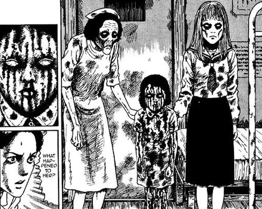 Junji Ito - Blood Sickness of the White Sands Village