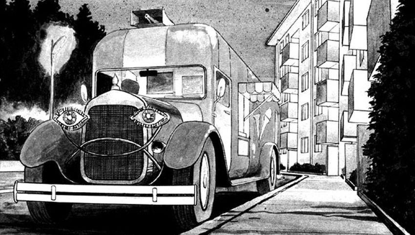 Junji Ito - Ice Cream Bus