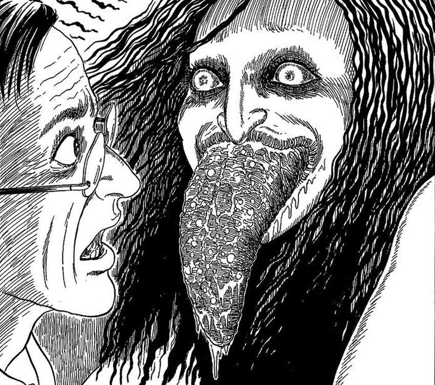 Junji Ito - Licking Woman