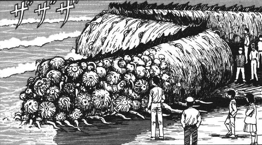 Junji Ito - The Thing That Drifted Ashore