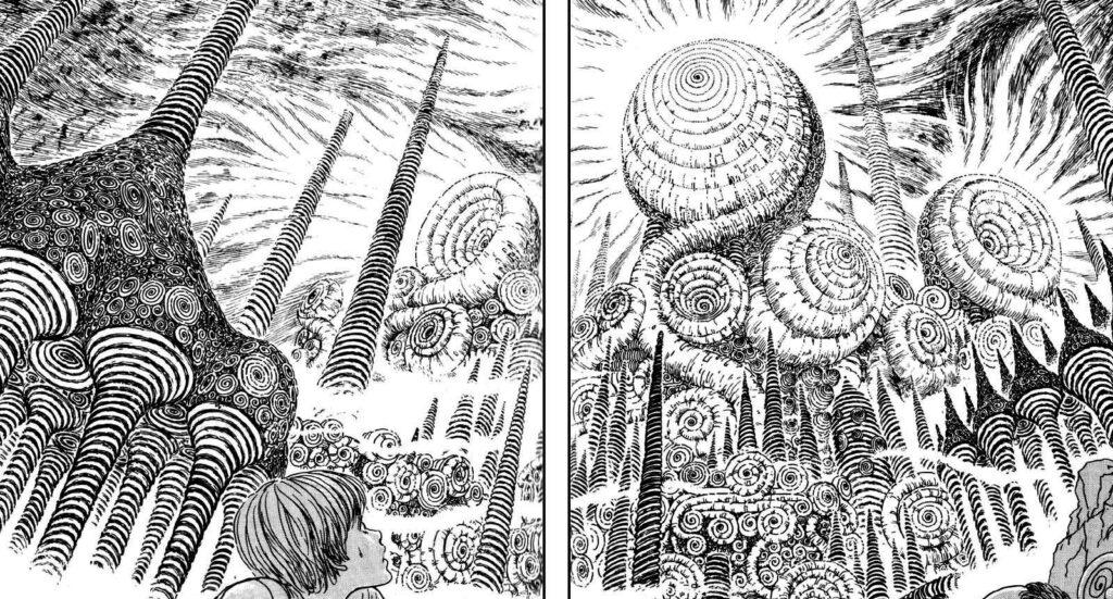 Horror Manga by Junji Ito - Uzumaki Picture 1