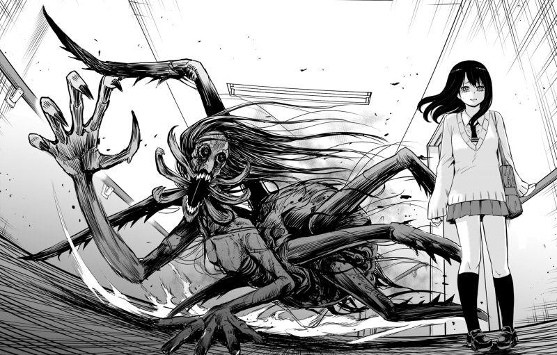Horror Manga by Izumi Tomoki - Mieruko-Chan Picture 2
