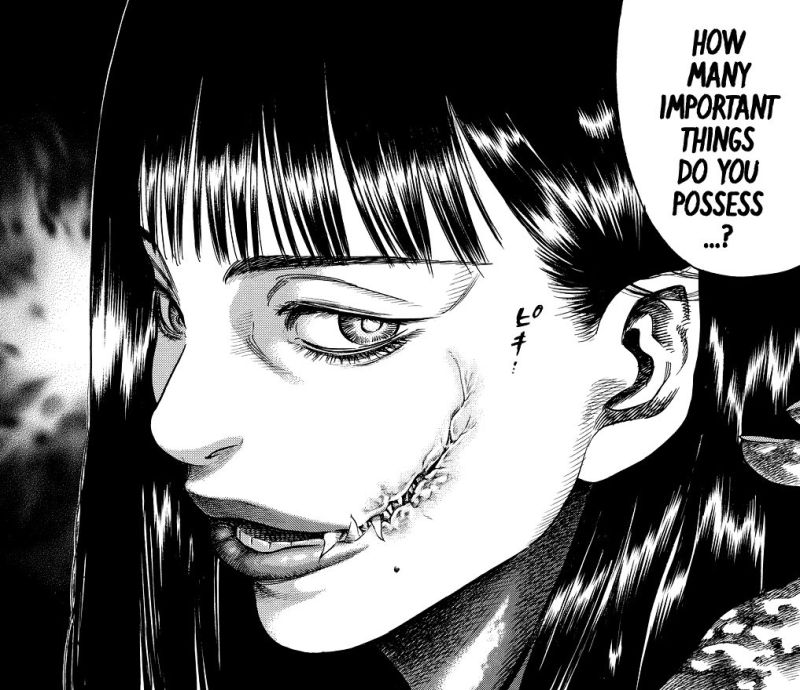 Horror Manga by Satou Hirohisa - Shiga Hime Picture 1