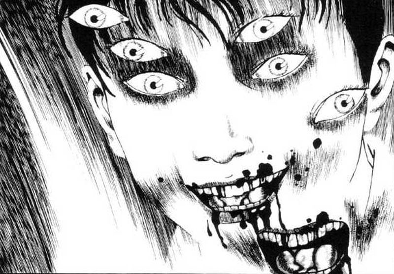 Horror Manga by Suehiro Maruo - The Laughing Vampire