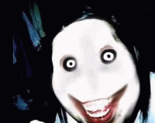 A picture of the best creepypasta character Jeff the Killer.