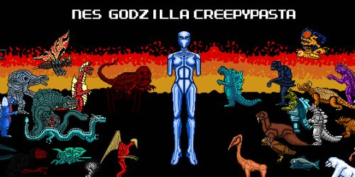 A picture of the best creepypasta NES Godzilla Creepypasta.