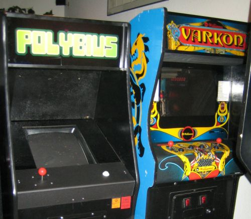 A picture of the best creepypasta Polybius.
