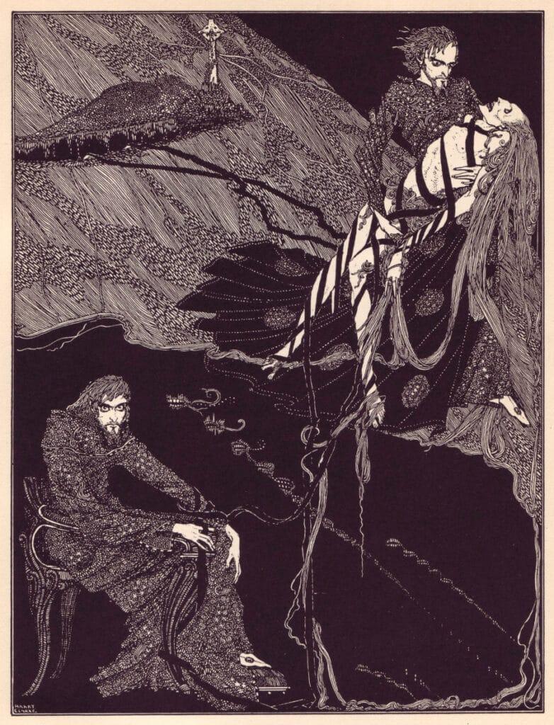 Edgar Allen Poe - Berenice - Illustration by Harry Clarke