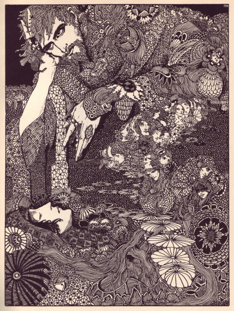Edgar Allen Poe - Morella - Illustration by Harry Clarke