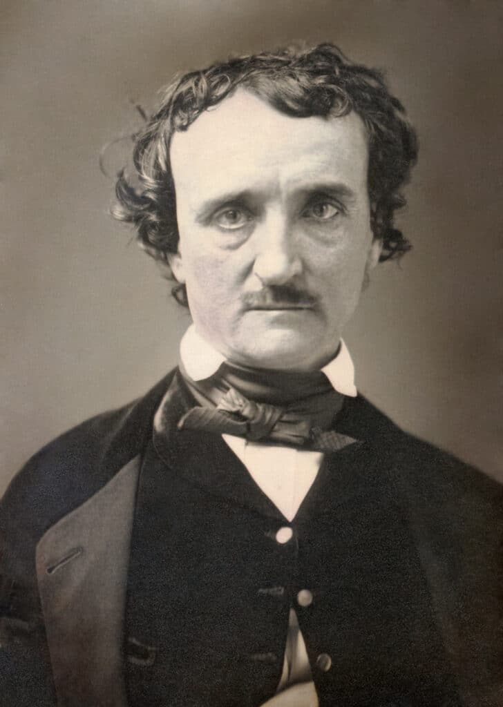 Photograph of Edgar Allan Poe
