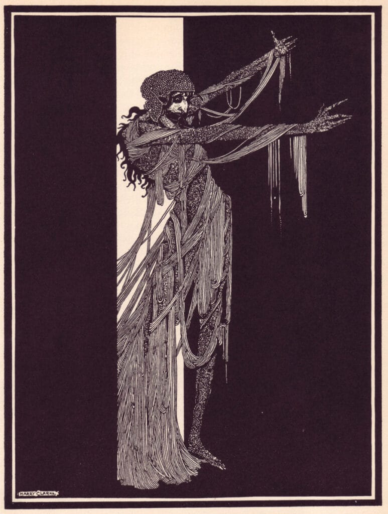 Edgar Allan Poe - The Fall of the House of Usher - Illustration by Harry Clarke
