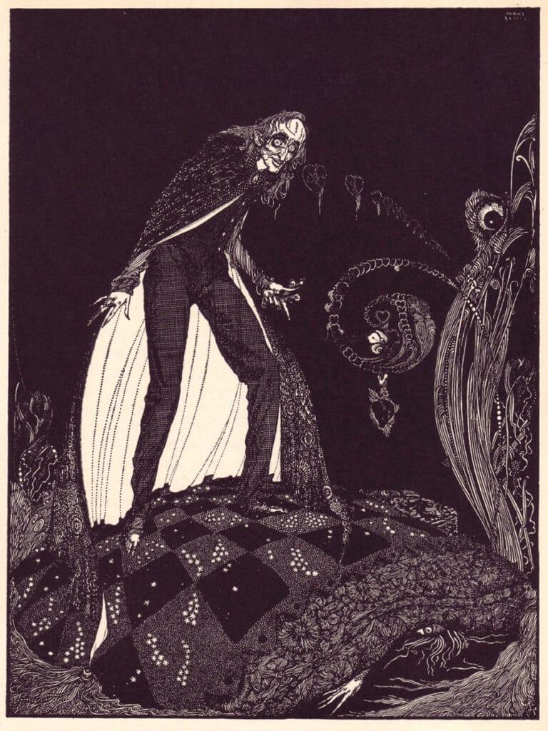 Edgar Allan Poe - The Tell-Tale Heart - Illustration by Harry Clarke
