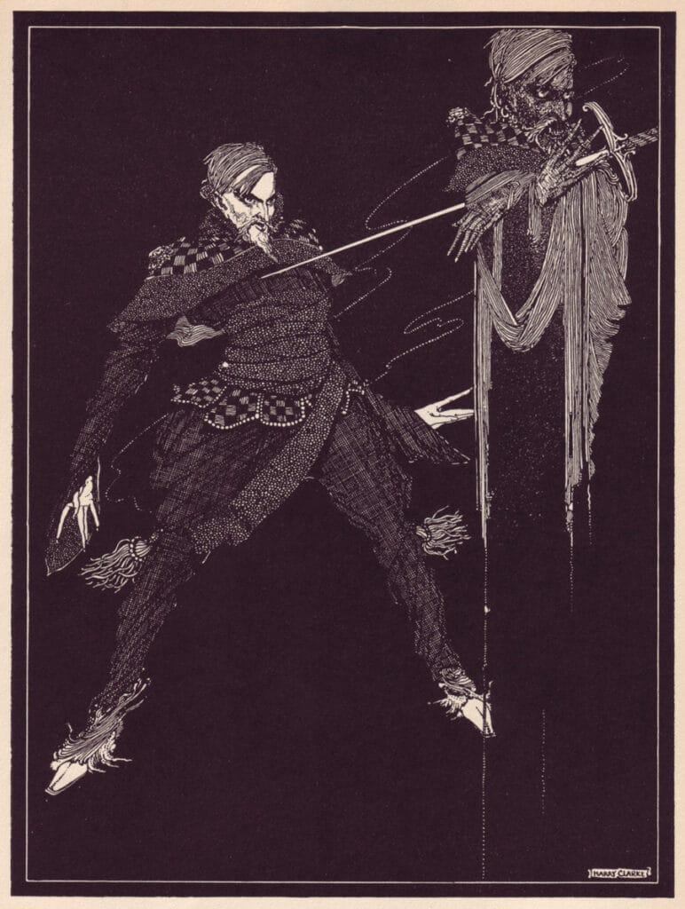 Edgar Allan Poe - William Wilson - Illustration by Harry Clarke