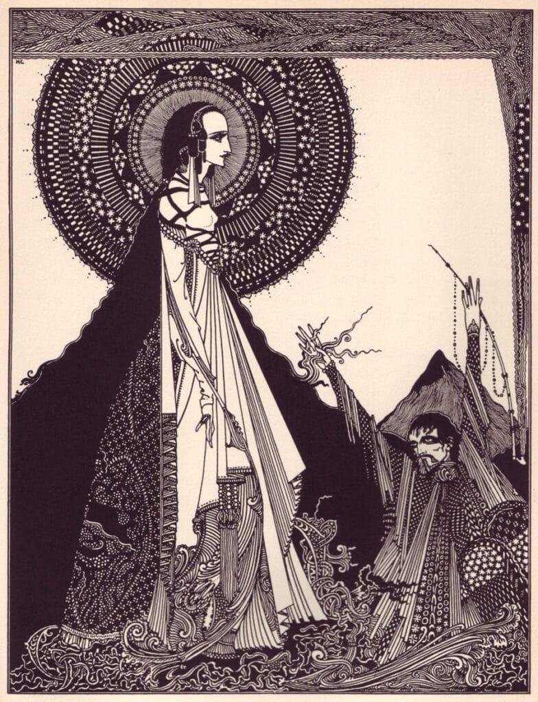 Edgar Allan Poe - Ligeia - Illustration by Harry Clarke