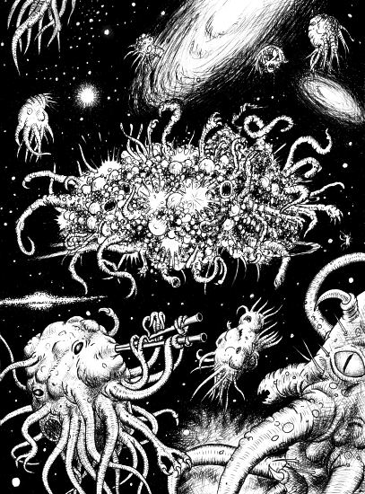 Best Lovecraft Stories - Azathoth - Illustrated by Dominique Signoret