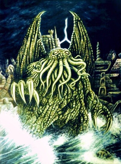 Best Lovecraft Stories - Cthulhu - Illustrated by Benoît-Stella