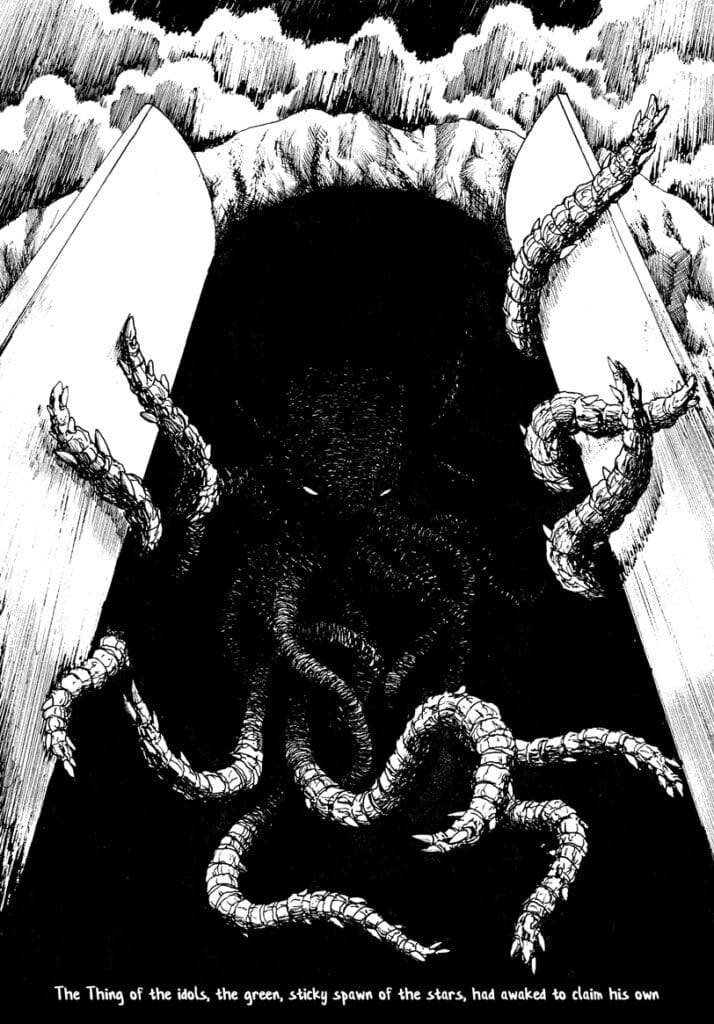 Best Lovecraft Stories - The Call of Cthulhu - Illustrated by Sofyan Syarief 1