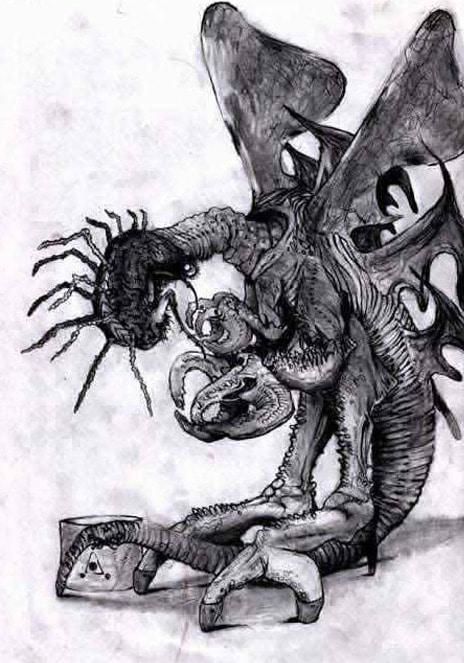 Best Lovecraft Stories - The Whisperer in Darkness - Mi-Go - Illustrated by Khannea SunTzu