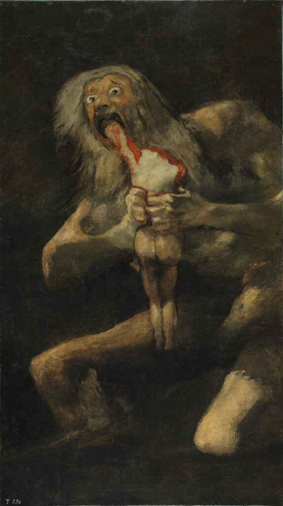 Francisco Goya - Saturn Devouring His Son