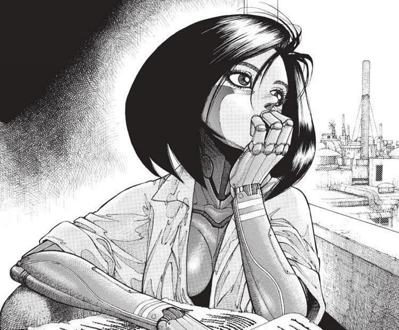 Best Manga by Yukito Kishiro - Battle Angel Alita Picture 3