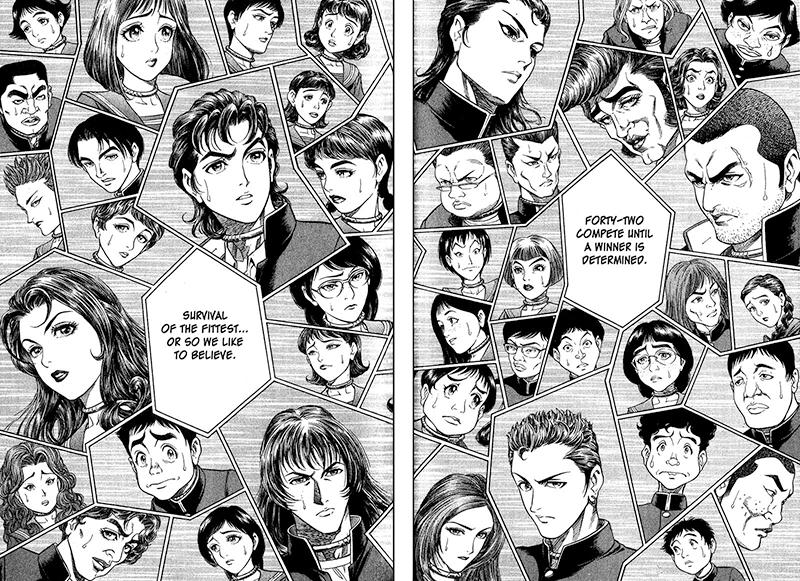 Best Manga by Masayuki Taguchi and Koushun Takami - Battle Royal Picture 1