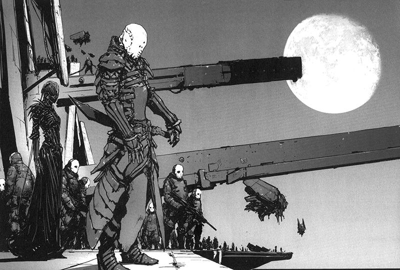Best Manga by Tsutomu Nihei - Biomega Picture 3