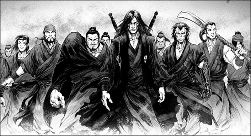 Best Manga by Jingfu Qiao and Meng Ma Gong Zuo Shi - Blood and Steel Picture 1