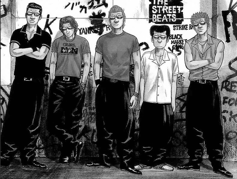 Best Manga by Hiroshi Takahashi - Crows Picture 1