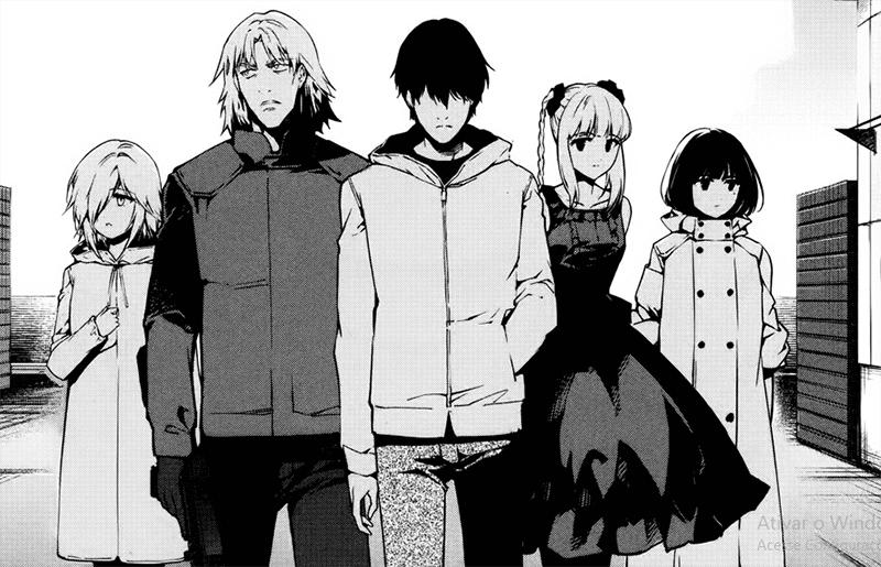 Best Manga by Ginko and Yuki Takahata - Darwin's Game Picture 1
