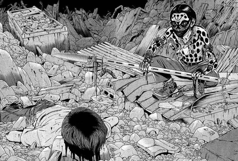 Best Manga by Minetaro Mochizuki - Dragon Head Picture 2