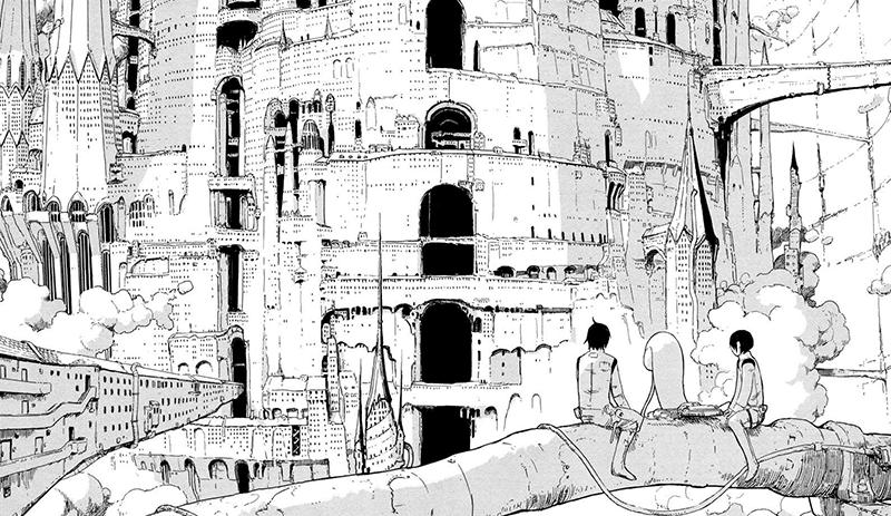 Best Manga by Tsutomu Nihei - Knights of Sidonia Picture 1