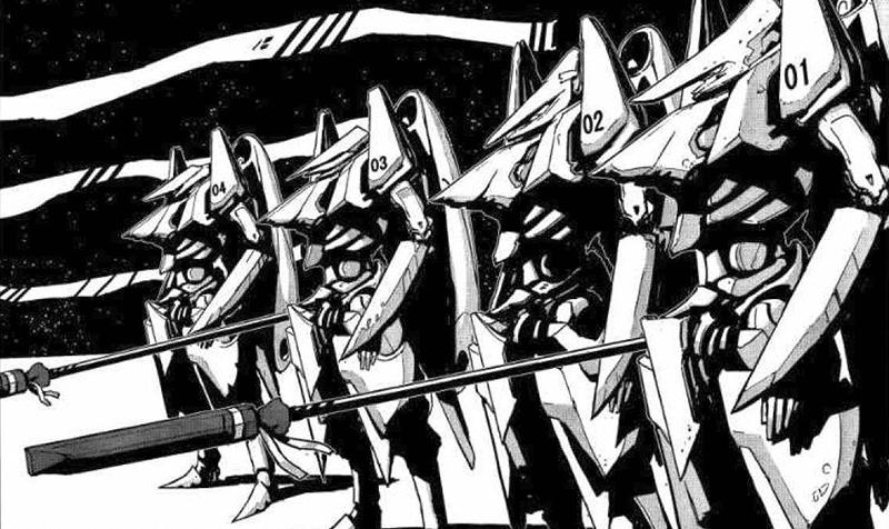 Best Manga by Tsutomu Nihei - Knights of Sidonia Picture 3