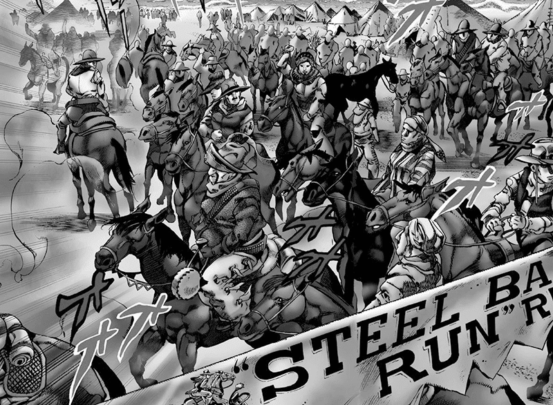 Best Manga by Hirohiko Araki - Jojo's Bizarre Adventure Part 7: Steel Ball Run Picture 1