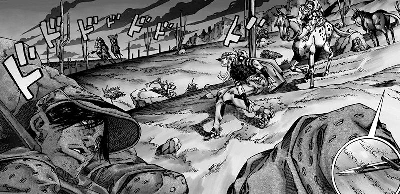 Best Manga by Hirohiko Araki - Jojo's Bizarre Adventure Part 7: Steel Ball Run Picture 4