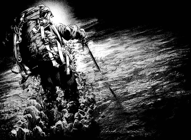Best Manga by Shinichi Sakamoto - The Climber Picture 3