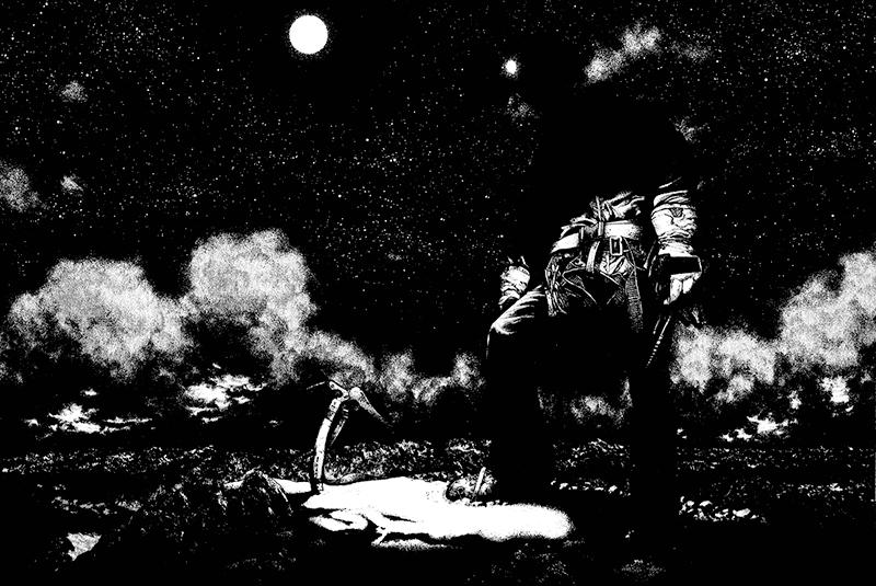 Best Manga by Shinichi Sakamoto - The Climber Picture 4