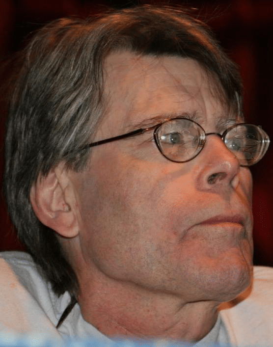 Photograph of Stephen King