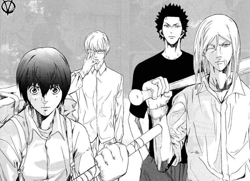 Best Shonen Manga by Yuu Kuraishi and Kazu Inabe - Apocalypse no Toride Picture 1