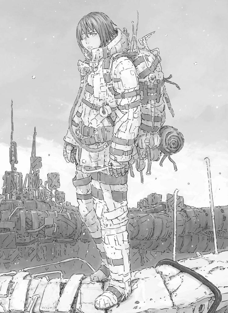 Best Shonen Manga by Tsutomu Nihei - Aposimz Picture 1