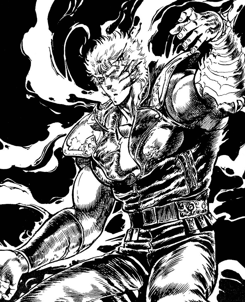Best Shonen Manga by Buronson and Tetsuo Hara - Fist of the North Star Picture 2