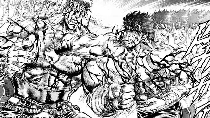 Best Shonen Manga by Buronson and Tetsuo Hara - Fist of the North Star Picture 4